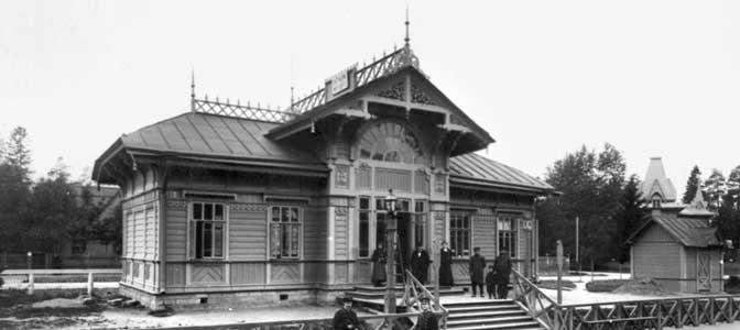 вокзал платформы Мариенбург