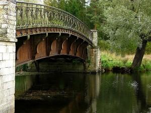 """Мост в парке """"Зверинец"""" в Гатчине"""