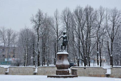 Памятник Павлу I Гатчина