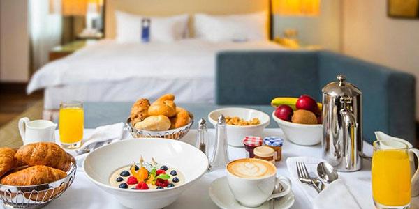 Завтраки в отеле Гатчина